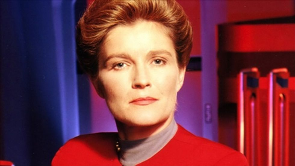 'Star Trek's Kate Mulgrew on geocentrist film: 'I was a voice for hire, and a misinformed one'
