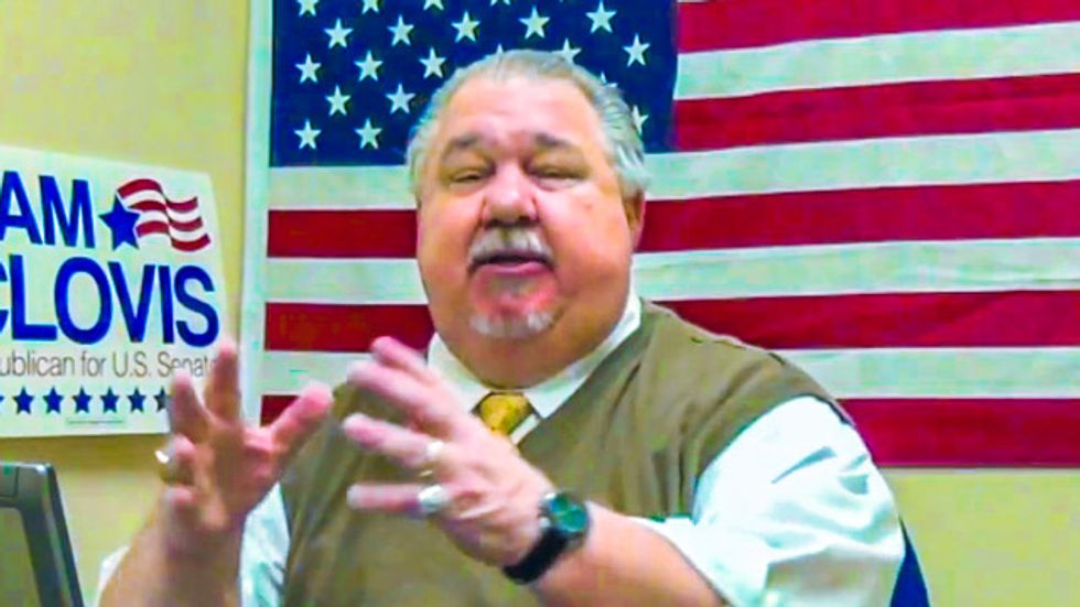 Iowa GOP Senate candidate on impeachment: Obama is lucky he's black