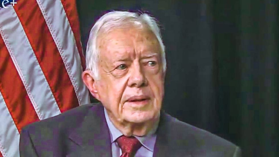 Jimmy Carter: Violence against women is 'the worst human rights abuse on Earth'