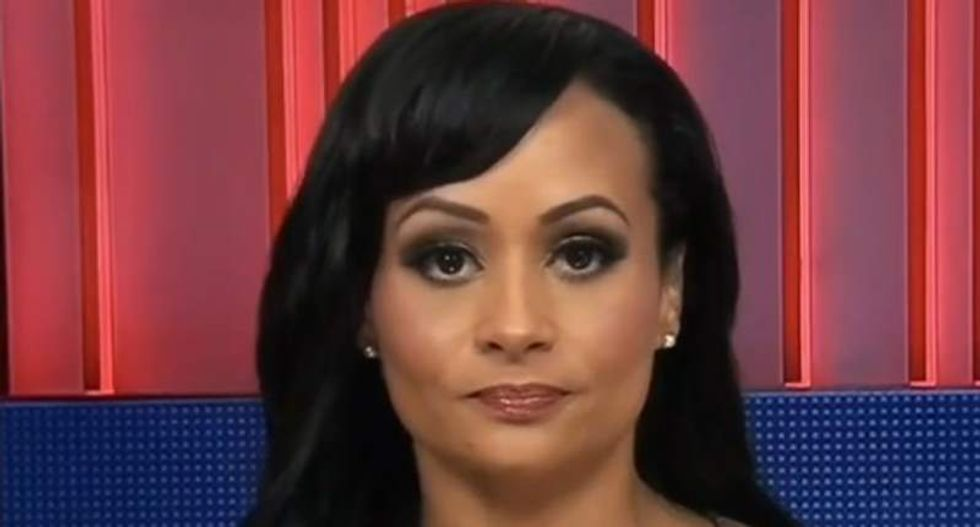 'His actions are presidential whether you like it or not': Katrina Pierson defends Trump's CNN assault tweet