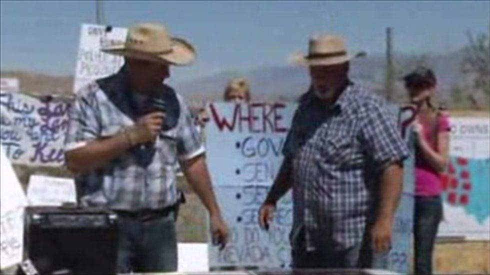 Nevada 'range war' protest growing in size after video of encounter with federal agents