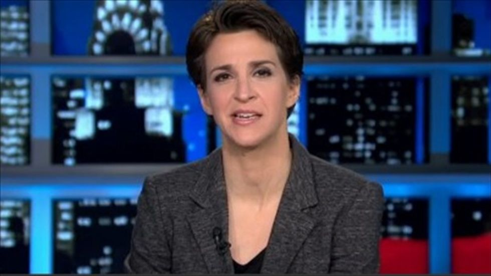 'Stepping on their own tail': Rachel Maddow questions the timing of Kathleen Sebelius' exit