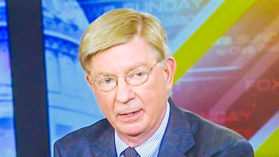 George Will: Obama and Holder blurt out 'race card' because of liberal 'Tourette syndrome'