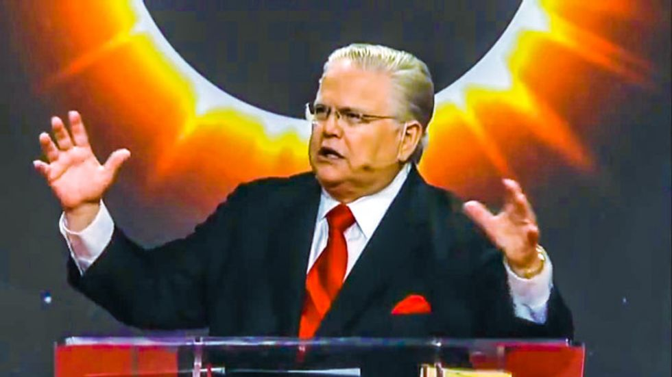 Pastor John Hagee: Tuesday's 'blood moon' eclipse signals the end of the world