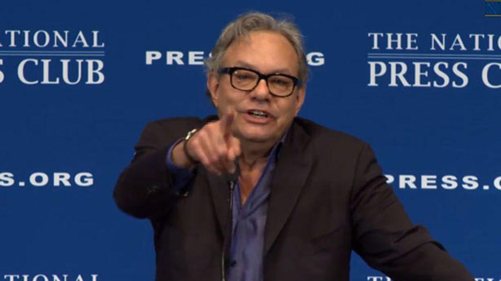 Lewis Black praises socialism as 'enforced Christianity' in National Press Club speech