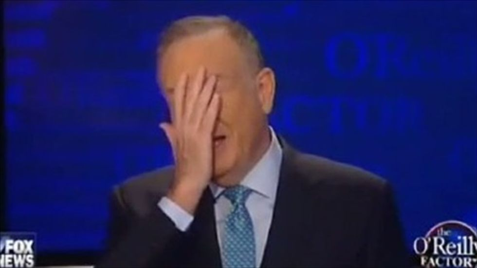 'I think I'm in The Twilight Zone': Bill O'Reilly clashes with a liberal and a conservative at once
