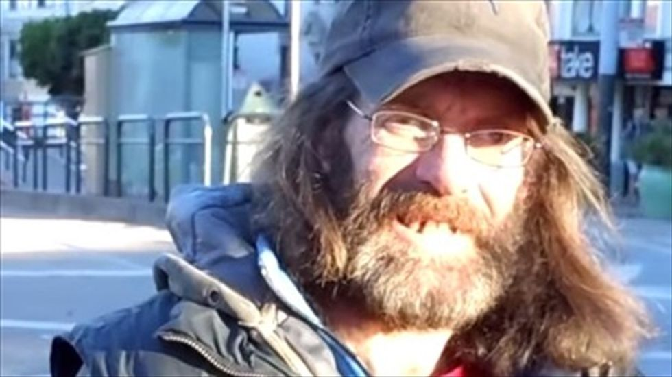 Homeless man straps GoPro camera to his chest to film his life in tech-heavy San Francisco