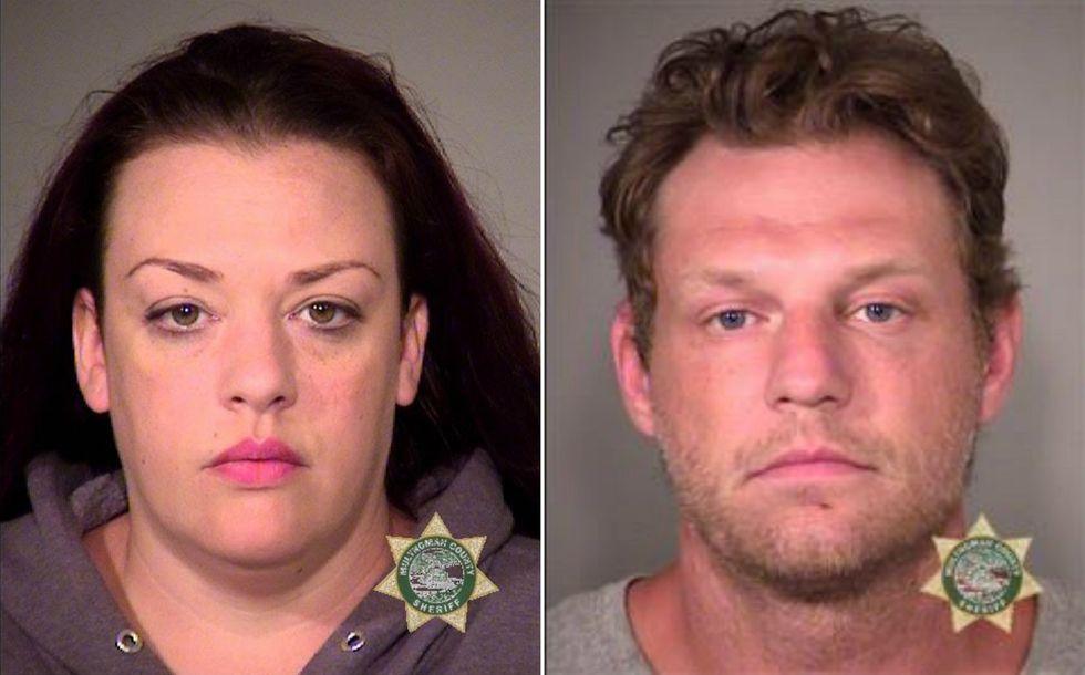 'Get him, baby!': Oregon white supremacist brutally kills black teen as girlfriend cheers him on