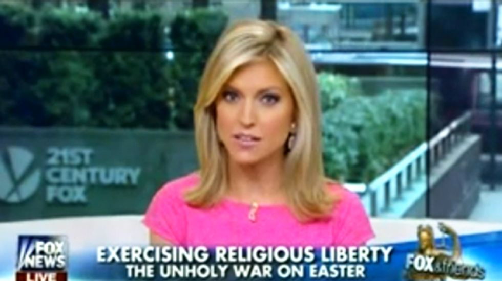 Fox guest: Promoting church-state separation at Easter like carrying 'God Hates F*gs' sign