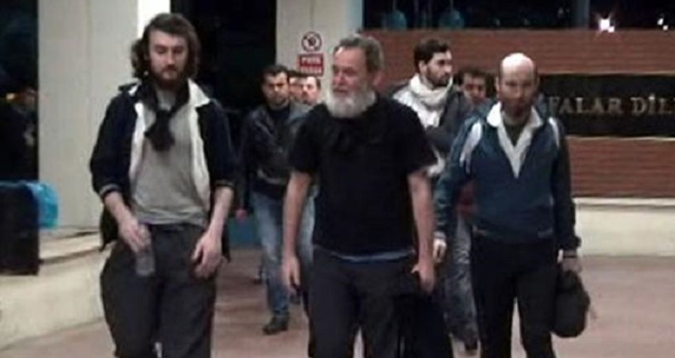 French journalists free after 10-month Syria hostage ordeal