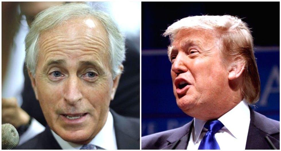 'Bob has big plans': GOP Sen. Corker's feud with Trump fuels speculation of impeachment