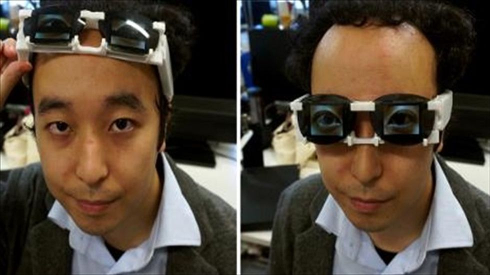 Japanese scientist's digital eyes show your emotions for you
