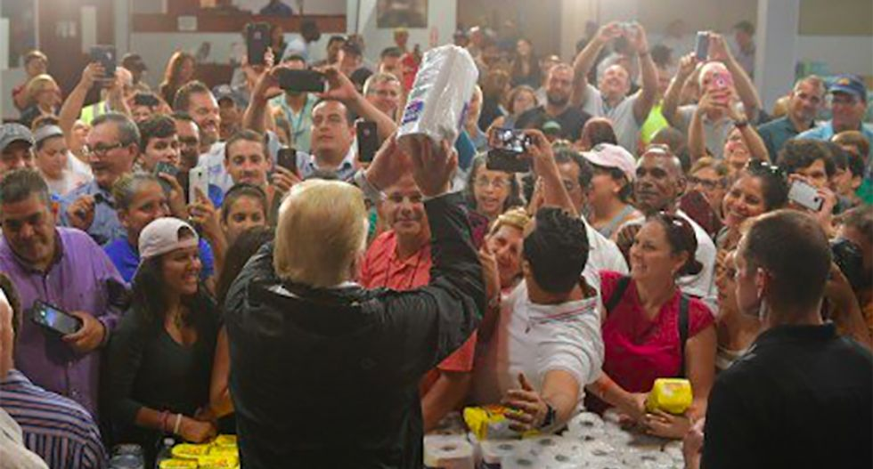 Trump has 'turned bigotry into policy': Scathing WaPo editorial scorches the president on Puerto Rico