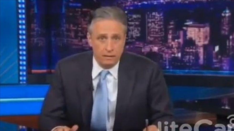 Jon Stewart destroys anti-Clinton sexism: 'It's OK to be a p*ssy, as long as you've got a d*ck'