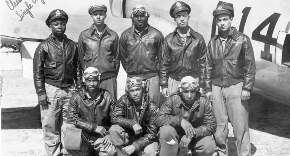 A brief history of black Americans fighting fascism -- from WWII to Charlottesville