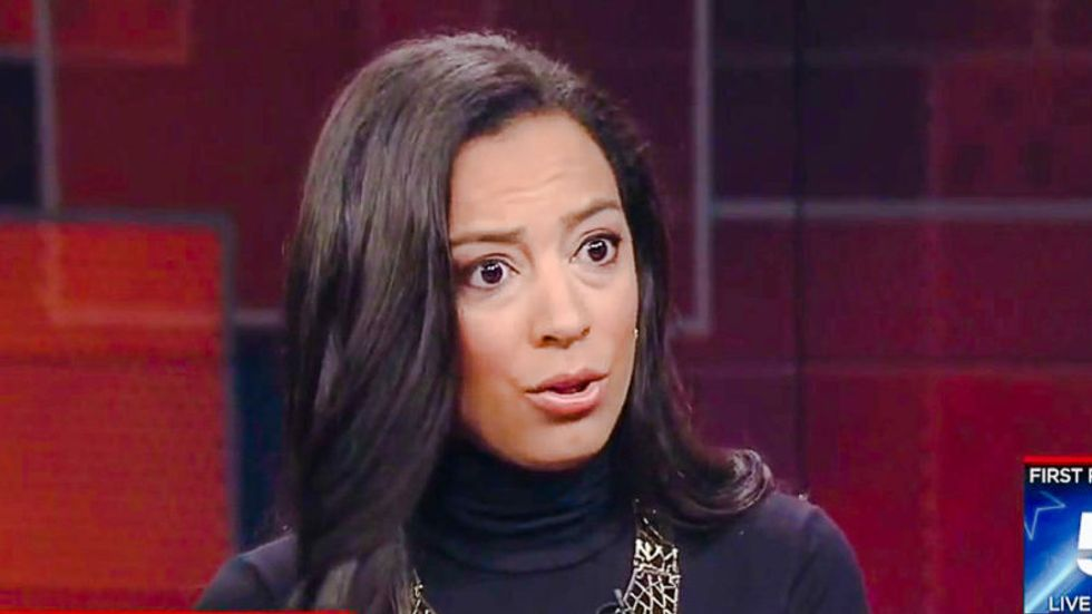 Angela Rye slams Omarosa to her face in scalding takedown of 'president's apprentice'