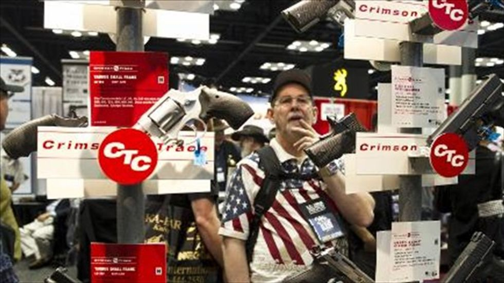 'You have to be ready to eliminate the threat': Fearmongering and GOP groveling at NRA convention