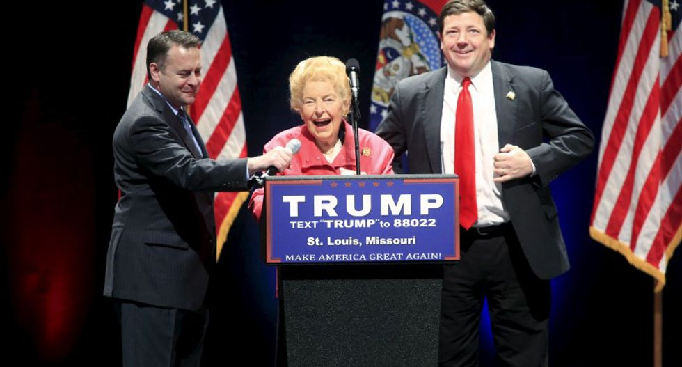 Longtime right-wing conservative icon and ERA opponent Phyllis Schlafly dies at 92