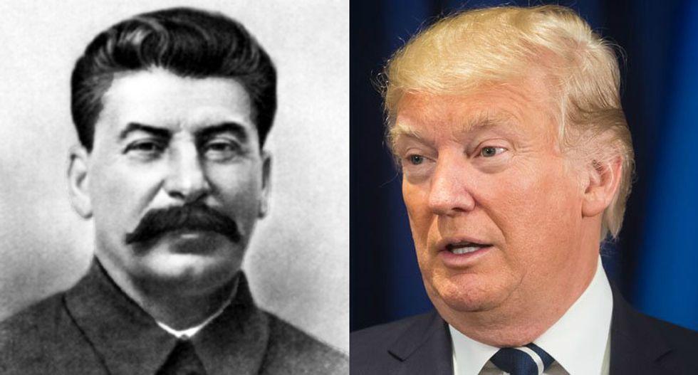 Soviet leader Nikita Khruschev's granddaughter: Trump's attacks on media are just like Stalin