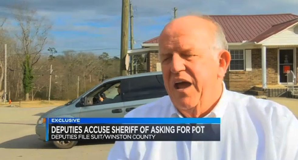 Alabama deputies fired after recording sheriff demanding confiscated weed for his sick aunt