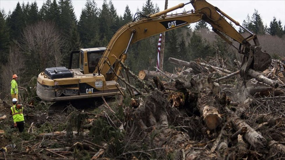 Search suspended for two remaining victims of Washington state mudslide