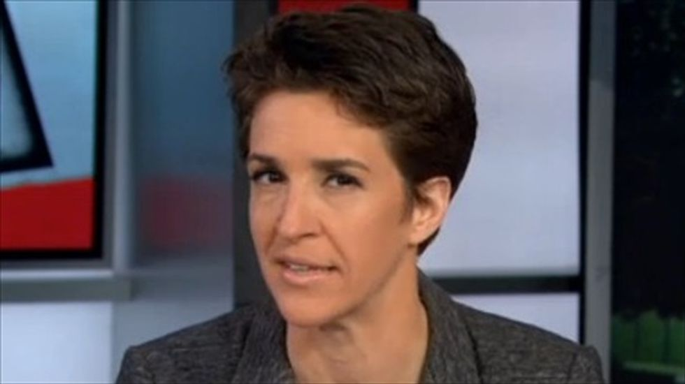 Rachel Maddow blasts Oklahoma's 'rushed and politically forced' botched execution
