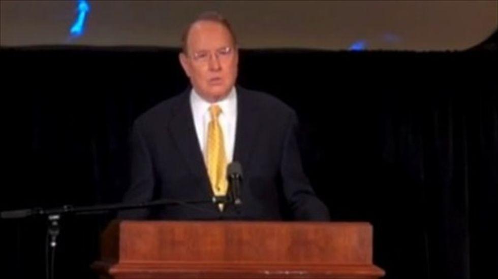 Calif. lawmaker leaves prayer event after James Dobson calls Obama 'the abortion president'