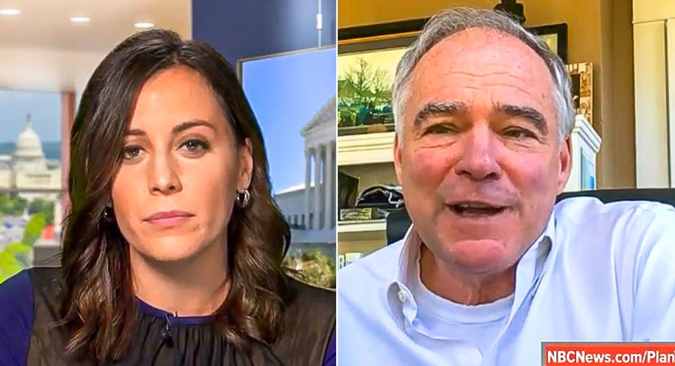 Tim Kaine takes fighting Trump's court takeover off the table: 'I'm asking Republicans to be true to their word'