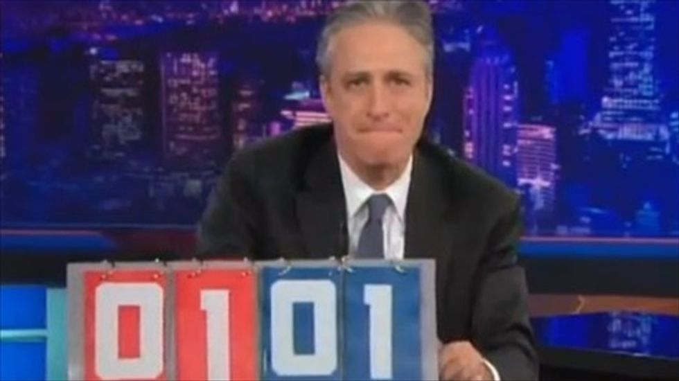 Jon Stewart: Bankers celebrate 'motherf*cking justice' of Occupy Wall Street conviction