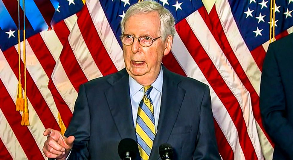 Mitch McConnell gets torn to shreds as 'evil' and 'cruel' in Kentucky newspaper column