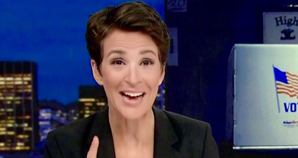 WATCH: MSNBC's Rachel Maddow reveals the horrible truth about Georgia's corrupt election system