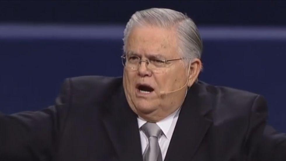 Pastor John Hagee: God thinks 'nasty' welfare recipients should get a job or starve