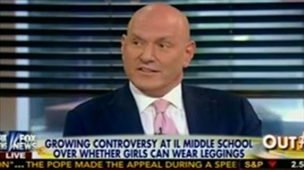 Fox's Keith Ablow: Schools should ban leggings because they distract my son