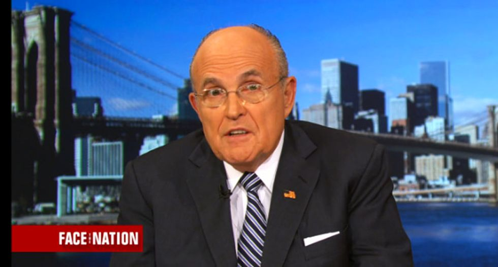 BUSTED: Rudy Giuliani's law firms have received $563,000 from Trump-backing super PAC