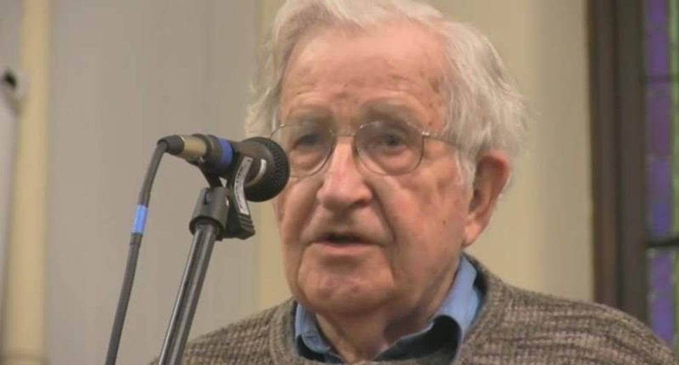 Noam Chomsky: 'The Republican Party is the most dangerous organization in human history'