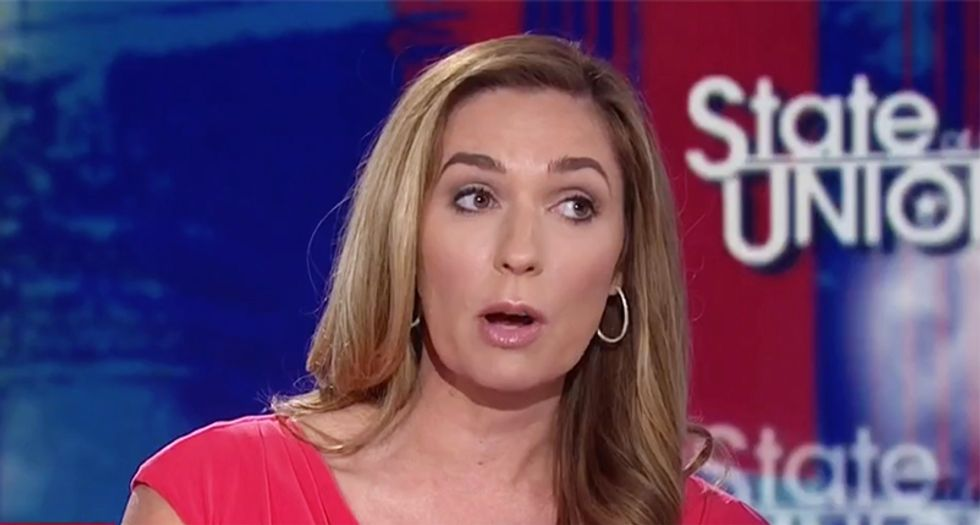 CNN conservative Amanda Carpenter levels White House's Schlapp for backing aide who mocked 'dying' McCain