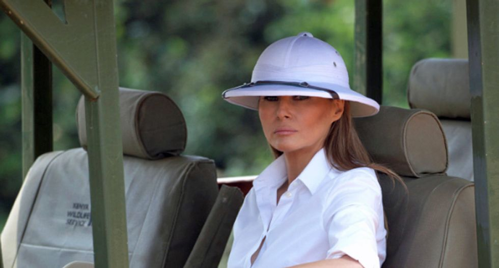 Melania Trump mysteriously racked up $100K tab during 6-hour stay at Cairo hotel: report