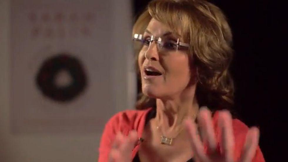 Sarah Palin: Atheist 'Joe McScrooges' trying to 'take away that freedom to express' Christmas