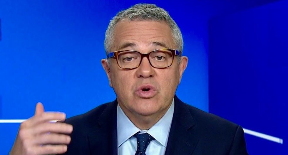 Trump's tweets aren't just 'bringing the crazy' -- they're also evidence of obstruction: CNN's Toobin