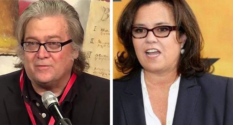 'I will be ready': Rosie O'Donnell would love to play Steve Bannon on SNL
