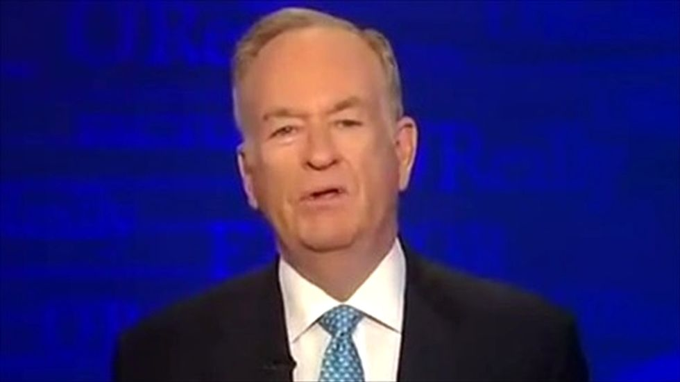 Bill O'Reilly spars with immigrant journalist: 'You don't have an entitlement to be here'