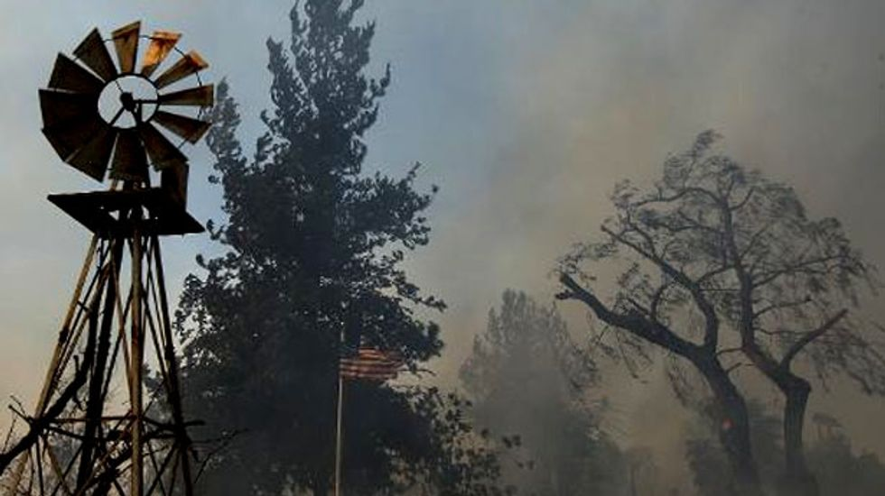 Girl accused of setting California wildfire ordered to have mental exam
