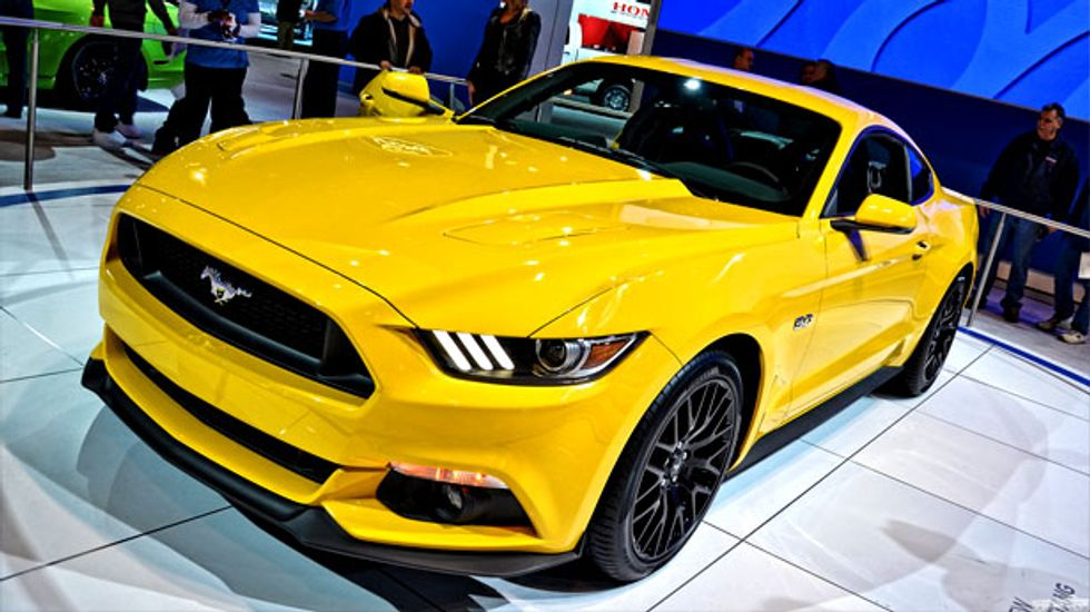 Ford cooperating with safety regulators after Mustang driver injured by air bag fragment