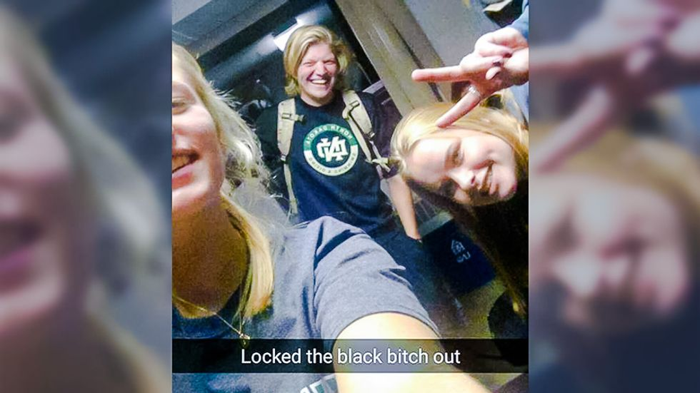 'Locked the black b*tch out': North Dakota students' racist Snapchat exposes dorm harassment
