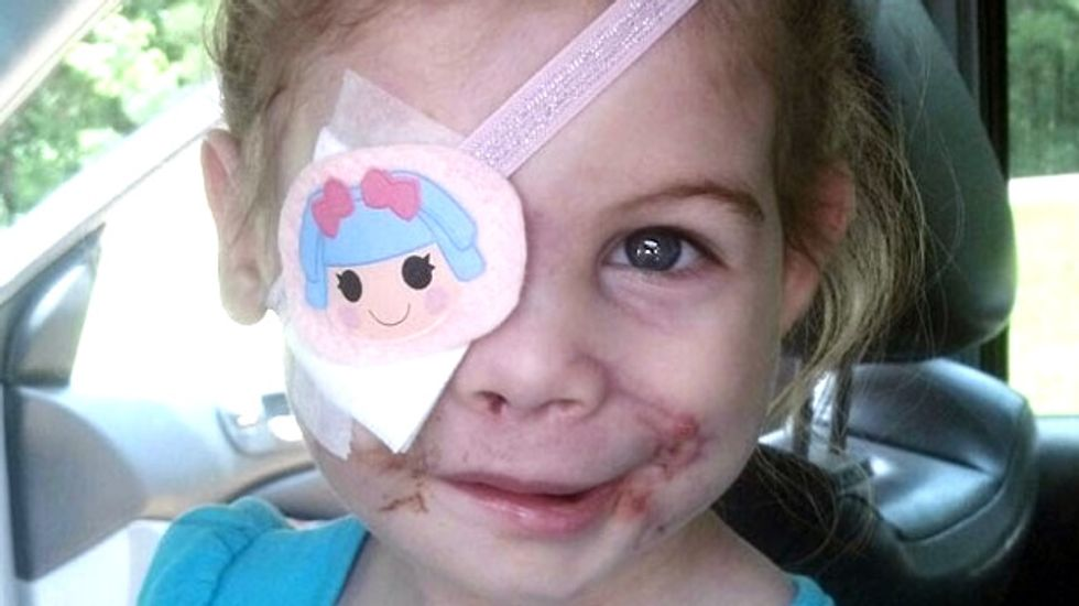 Hoax called on MS family raising money off claim that KFC kicked out disfigured girl