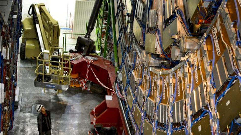 If the Large Hadron Collider made music, this is what it would sound like: physicists
