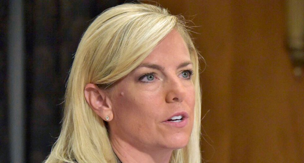 Kirstjen Nielsen attacks Congress and courts for not remaking laws for Trump's agenda in resignation letter
