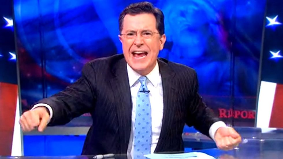 Stephen Colbert: GOP policies force poor Americans to pay for 'edible trash'