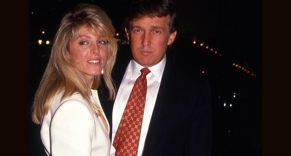 Did Donald Trump's ex-wife Marla Maples leak his 1995 tax return?