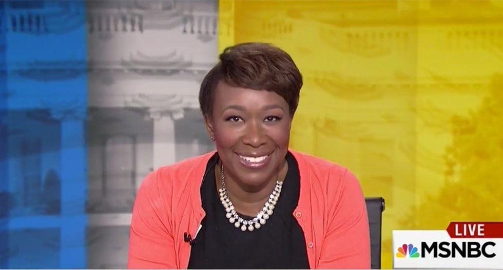 Watch: Joy Reid ridicules Trump for packing his Black History Month meeting with black boosters